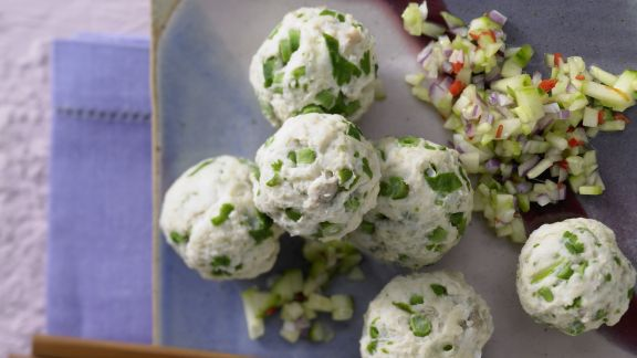 Rezept: Gedämpfte Thai-Fischbällchen