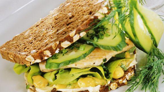 Rezept: Geflügel-Sandwich