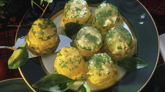 Rezept: Geflügel-Schalotten-Sülze