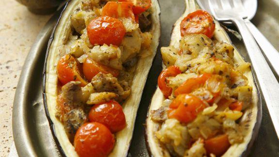 Rezept: Gefüllte Auberginen auf türkische Art