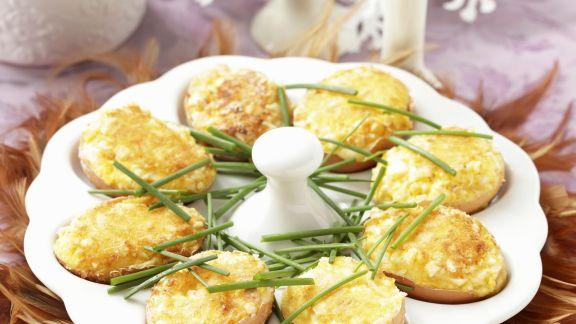 Rezept: Gefüllte Eier