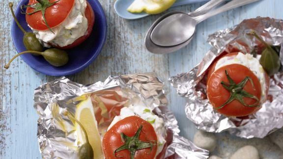 Rezept: Gefüllte Ricotta-Tomaten
