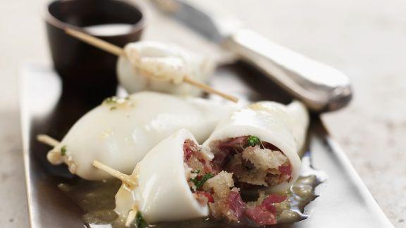 Rezept: Gefüllte Tintenfische auf philippinische Art
