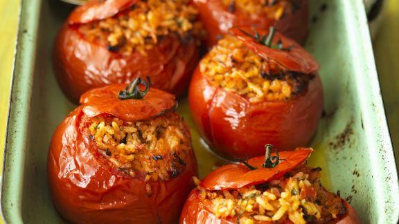 Rezept: Gefüllte Tomaten aus dem Ofen