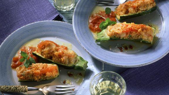 Rezept: Gefüllte Zucchini