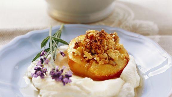 Rezept: Gefüllter Pfirsich nach toskanischer Art