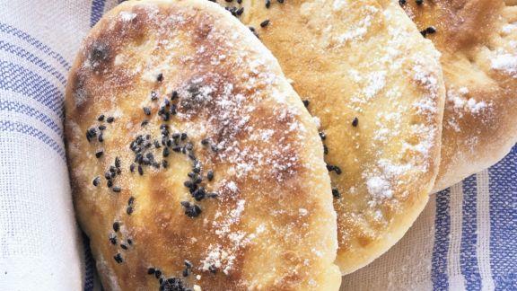 Rezept: Gefülltes indisches Naan-Brot