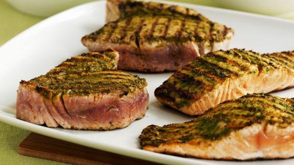 Rezept: Gegrillte Fischsteaks