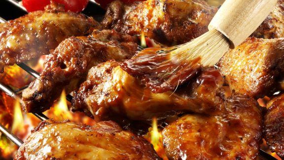 Rezept: Gegrillte Hähnchenflügel