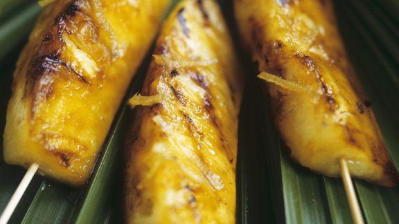 Rezept: Gegrillte Honig-Ananas