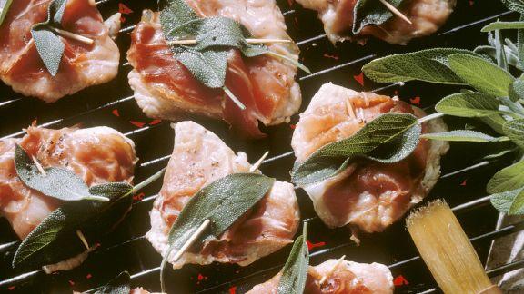 Rezept: Gegrillte Saltimbocca