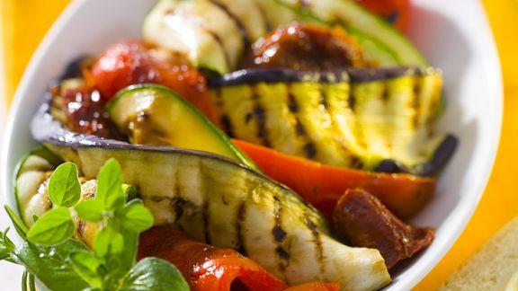 Rezept: Gegrilltes Gemüse
