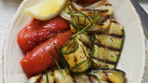 Rezept: Gegrilltes Gemüse als Antipasti