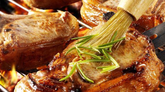 Rezept: Gegrilltes Schweinekotelett