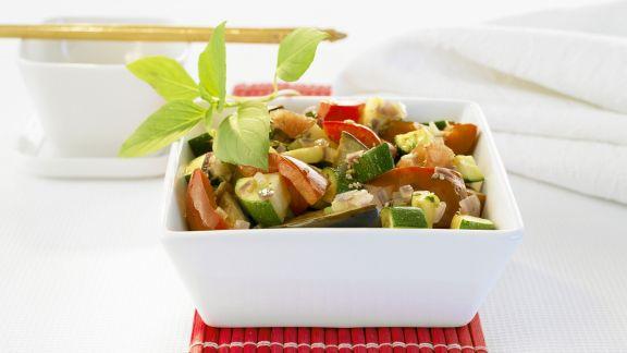 Rezept: Gemischte Gemüsepfanne