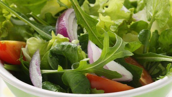 Rezept: Gemischter Blattsalat