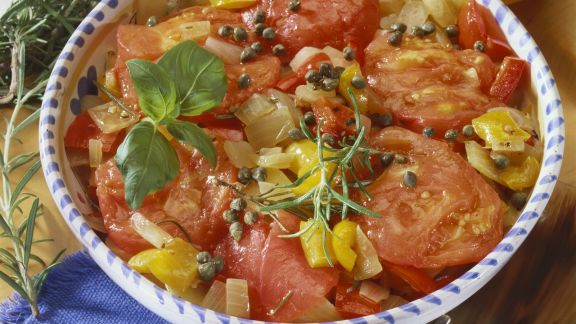 Rezept: Gemischtes geschmortes Gemüse