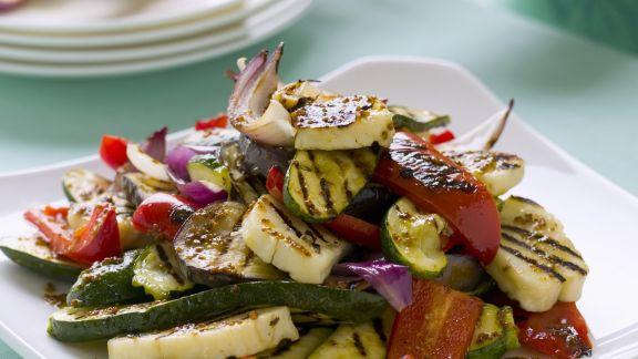 Rezept: Gemischtes Grill-Gemüse