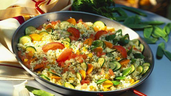 Rezept: Gemüse-Bulgur
