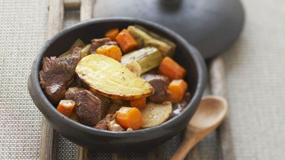 Rezept: Gemüse-Fleischeintopf auf elsässische Art