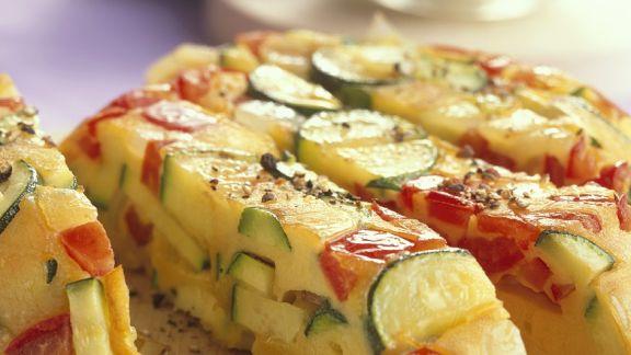 Rezept: Gemüse-Frittata