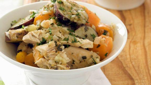 Rezept: Gemüse-Geflügel-Eintopf