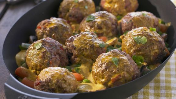 Rezept: Gemüse-Hackfleisch-Curry