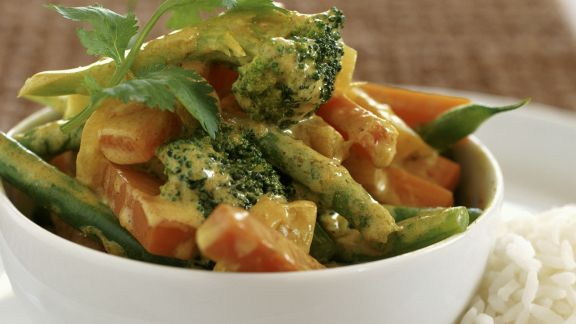 Rezept: Gemüse in Currysoße