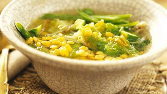 Rezept: Gemüse-Linsen-Suppe