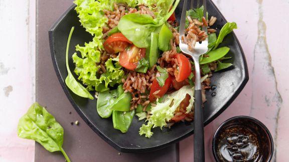 Rezept: Gemüse-Reis-Salat