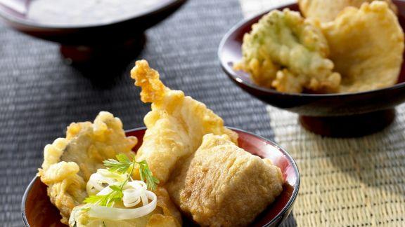 Rezept: Gemüse- und Fischtempura