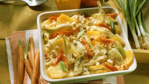 Rezept: Gemüseauflauf
