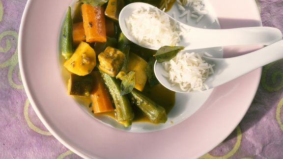Rezept: Gemüsecurry