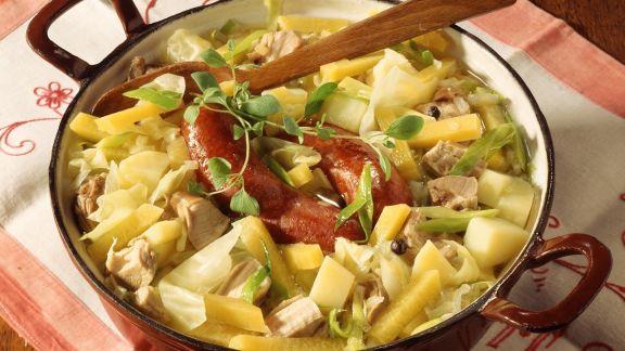 Rezept: Gemüseeintopf mit Fleisch aus Sachsen-Anhalt