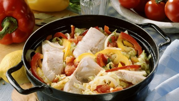 Rezept: Gemüseeintopf mit Karpfen
