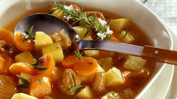 Rezept: Gemüseeintopf mit Maroni