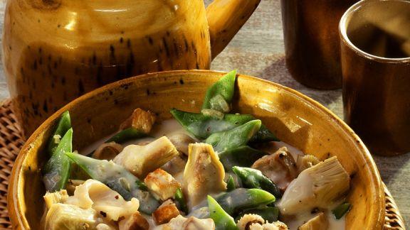 Rezept: Gemüseeintopf mit Sepia
