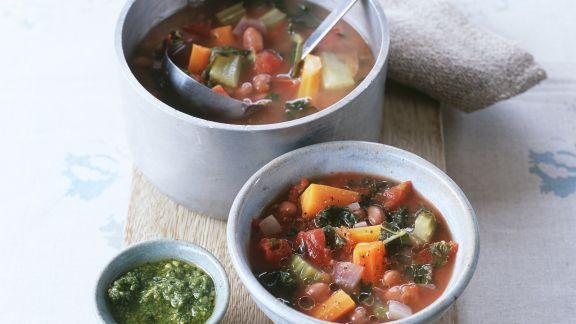 Rezept: Gemüseeintopf nach toskanischer Art
