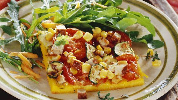 Rezept: Gemüsekuchen nach ayurvedischer Art