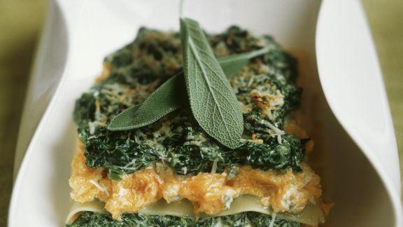 Rezept: Gemüselasagne mit Salbei