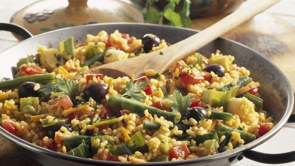 Rezept: Gemüsepaella