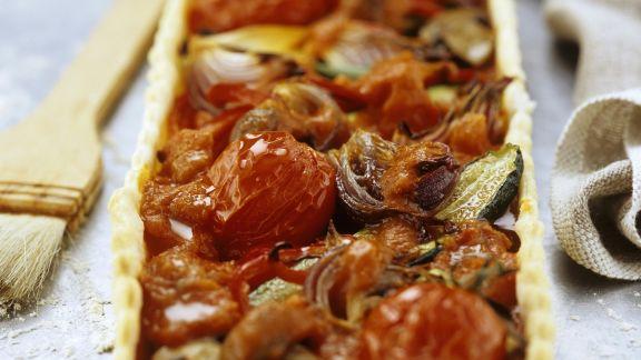 Rezept: Gemüsequiche