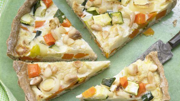 Rezept: Gemüse-Tarte