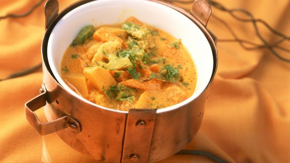Rezept: Gemüsetopf auf indische Art