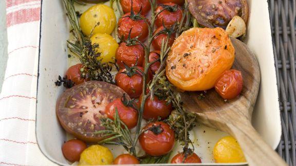 Rezept: Geschmorte Tomaten