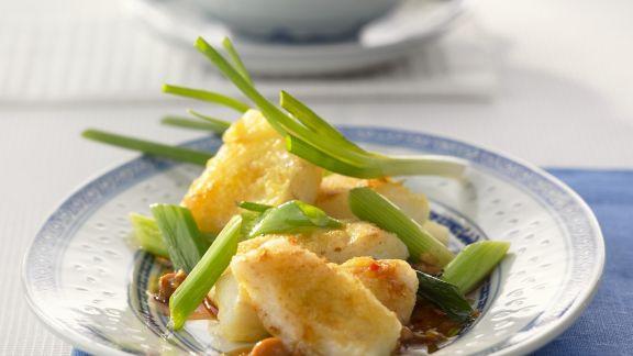 Rezept: Geschmorter Fisch im Sichuan-Stil