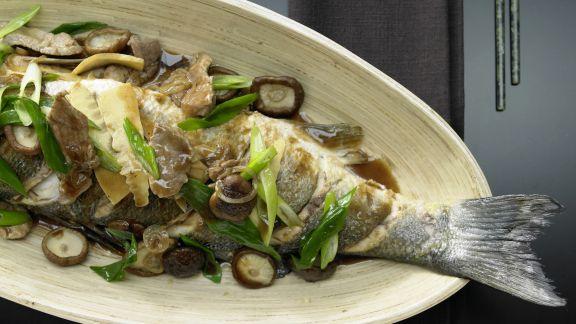 Rezept: Geschmorter Fisch Shanghai