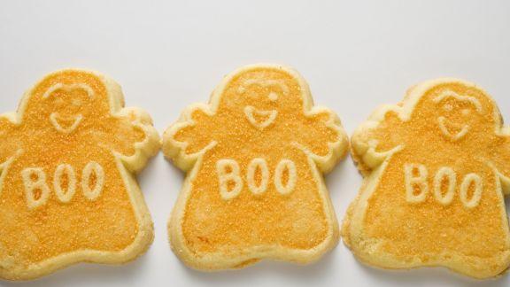 Rezept: Gespenster-Kekse zu Halloween