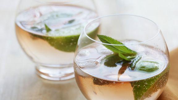 Rezept: Gin Bitter mit Minze