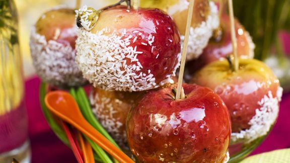 Rezept: Glasierte Äpfel (Liebesäpfel)
